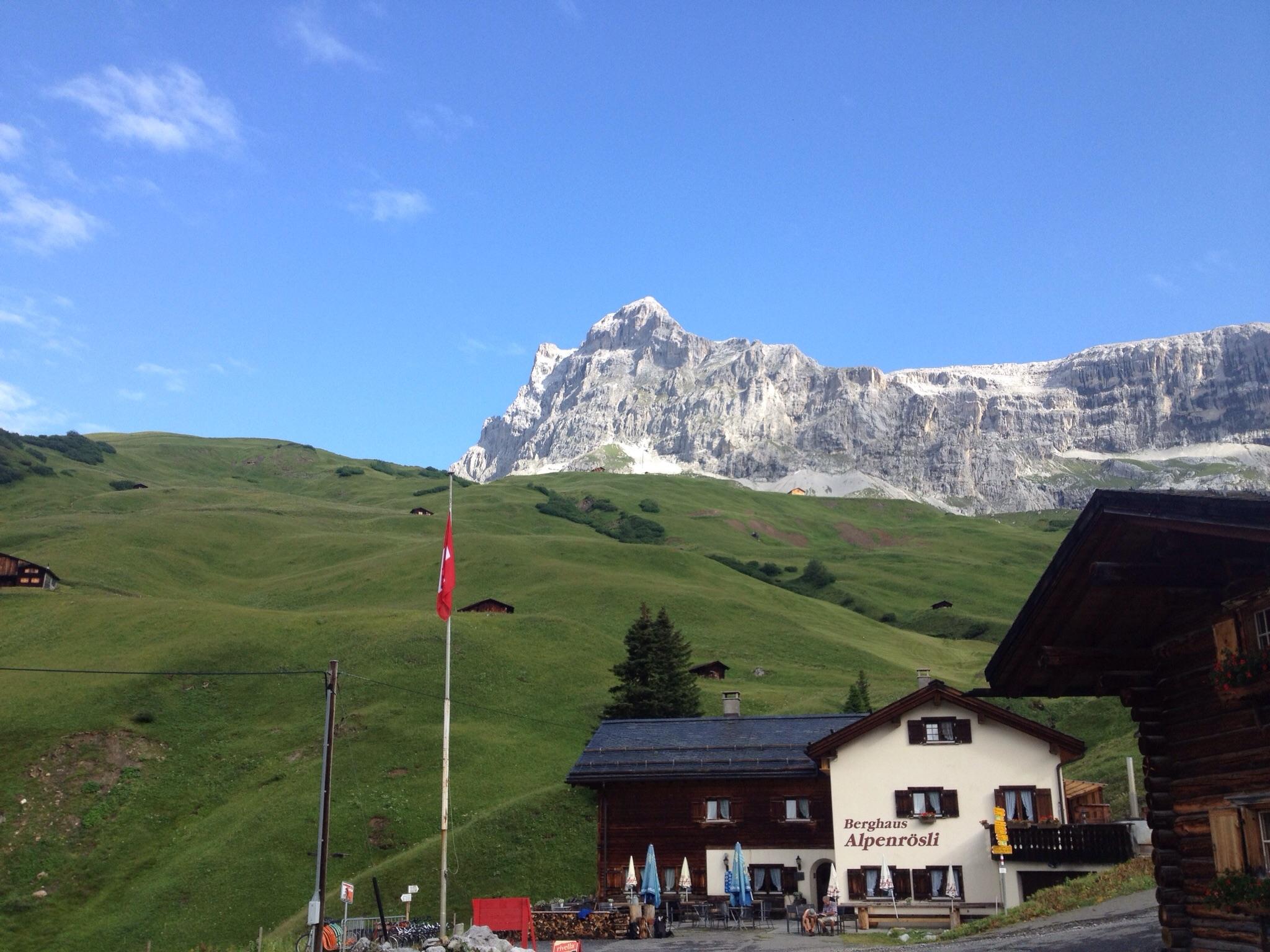 Klettersteig Sulzfluh : Über den klettersteig auf die sulzfluh edwin wandert