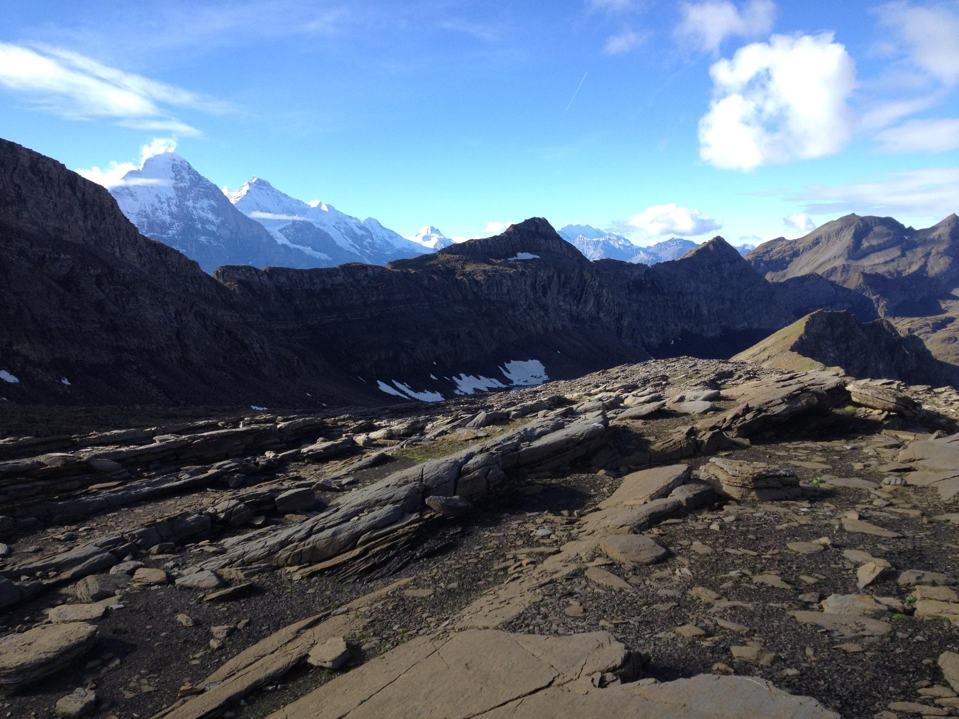 Ab 2500 m ü M. wartet eine steinige Landschaft