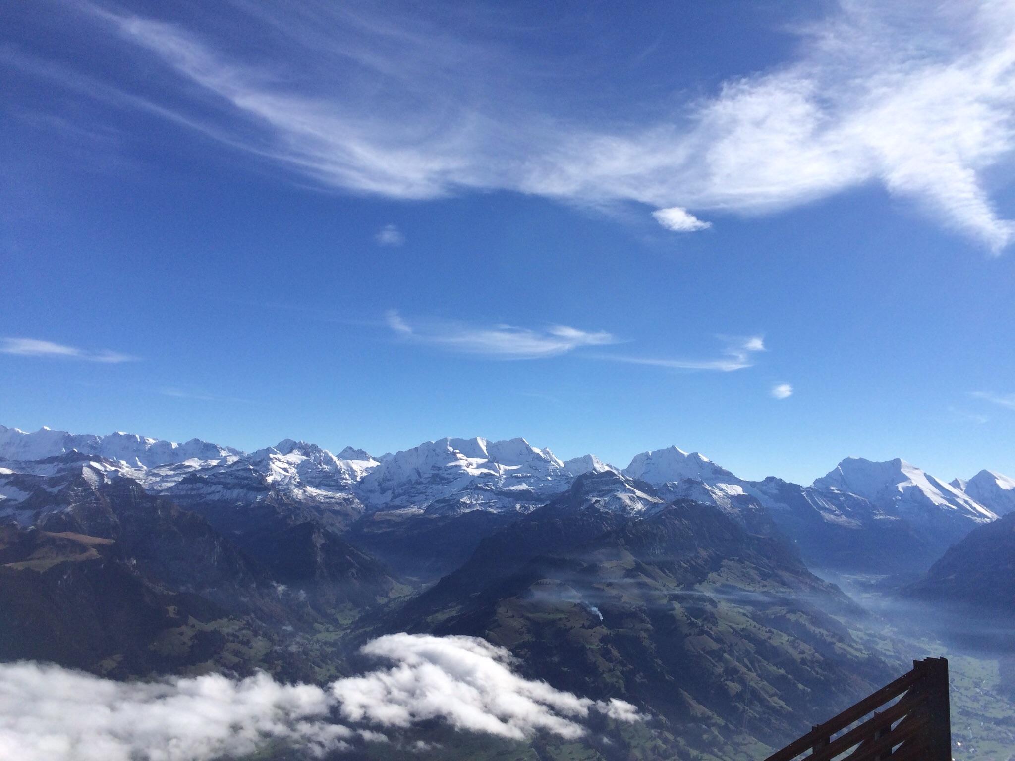 Die Kandertaler Grössen Blümlisalp, Doldenhorn und Balmhorn